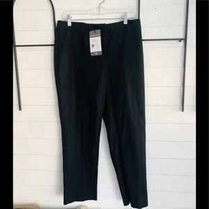 CABI dress pant cropped wide leg size 4